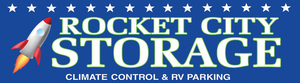 Rocket City RV & Self Storage logo